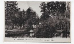 EPERNON - N° 29 - DOMAINE DE LA SAVONIERE - LE LAC - CPA NON VOYAGEE - Epernon