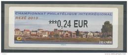 France, ATM Label,  Rezé, Trentemoult, River Loire, 0.24€, 2013, MNH VF - 2010-... Vignette Illustrate