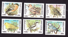 Cambodia, Scott #1896-1901, Mint Hinged, Birds, Issued 1999 - Cambodge