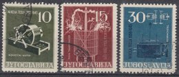 Yugoslavia Republic 1956 Mi#791-794 Used - Gebruikt