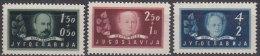 Yugoslavia Republic, 1948 Mi#545-547, Mint Never Hinged - 1945-1992 Socialistische Federale Republiek Joegoslavië