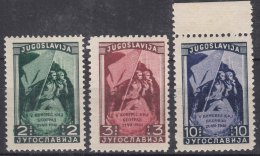 Yugoslavia Republic 1948 Mi#542-544 Mint Never Hinged - 1945-1992 Socialistische Federale Republiek Joegoslavië