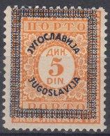 Yugoslavia Kingdom, Porto 1933 Mi#72 Mint Hinged - Ungebraucht