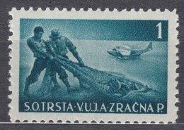 Italy Yugoslavia Trieste Zone B, Airmail 1949 Mi#5 Sassone#3 Mint Never Hinged - Mint/hinged