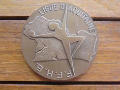MEDAILLE BRONZE FF HANDBALL 1990 DECERNEE MONNAIE DE PARIS - Handball