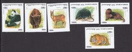 Cambodia, Scott #1910-1915, Mint Hinged, Wildlife, Issued 1999 - Cambodia