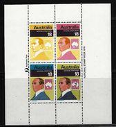 AUSTRALIEN - Block Mi-Nr. 2 Nationale Briefmarkenwoche Postfrisch - Blocks & Kleinbögen