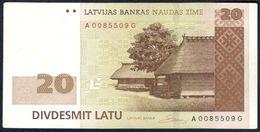 Latvia - 20 Latu 2007 - P55a - Latvia