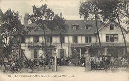 - Pas De Calais -ref-A820- Le Touquet Paris Plage - Regina Hotel - Hotels - Attelage - Attelages - Voiture - Voitures - - Le Touquet