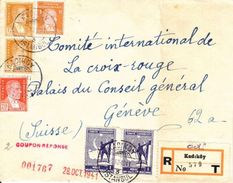LETTRE POUR LE COMITE DE LA CROIX ROUGE - GENEVE - 1941 - Covers & Documents