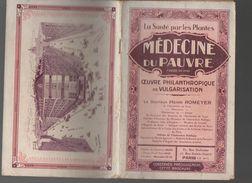 Livret   MEDECINE DU PAUVRE Par Henri Romeyer  (PPP5854) - Pubblicitari