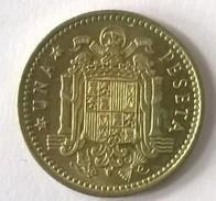 Espagne - 1 Peseta 1966 - Francisco Franco - - [ 5] 1949-… : Royaume