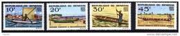 Sénégal N° 258 / 61 XX  Pirogues La Séries Des 4 Valeurs  TB - Senegal (1960-...)
