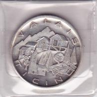 Médaille : VALASI - TICINO : 1969 Erröfnung - Apertura / Nufenenpass - Gewerbliche