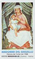 Madonnia Del Ghisallo, Santino Con Preghiera - Religion & Esotérisme