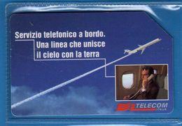 (3Eu) USATA°- SERVIZI TELEFONICI A BORDO - C&C.2624 . Th. -  Vedi Descrizione - Public Special Or Commemorative