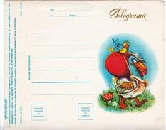 Télégramme De Roumanie (modification De Tarif De 2,5 Lei à 6 Lei) - Télégraphes