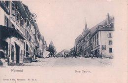 Romont, Rue Neuve (VI 2) - FR Fribourg