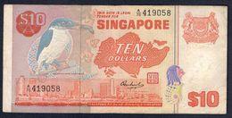 Singapore - 10 Dollars 1976 - Singapore