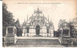 POSTAL    DREUX  -FRANCIA  -CAPILLA DE SAN LUIS -SEPULCRO DE LA FAMILIA DE ORLEANS - Dreux