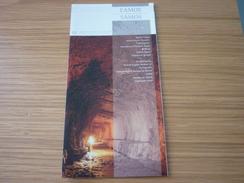 Greece Samos Island Eupalinian Tunnel Museum Leaflet - Publicité