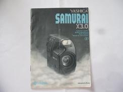 MANUALE D'ISTRUZIONE IN ITALIANO PER MACCHINA FOTOGRAFICA YASHICA SAMURAI X 3.0 - Materiale & Accessori