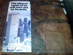 Depliant Plan Et Visite Du World Trade Center New York Origine Usa - Dépliants Touristiques