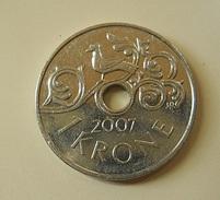 Norway 1 Krone 2007 - Noruega