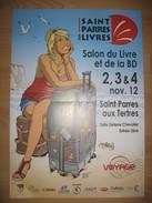 Affiche STEF Festival BD Saint Parres Aux Tertres 2012 - Afiches & Offsets