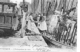 """59- Dunkerque L' Embarquement Des Tuiles + Nantes, Les Quais Et Le Port 4 Scans """" Cartes D' Autrefois"""" - Dunkerque"""