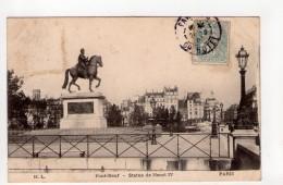 CPA-EP711-PARIS PONT NEUF STATUE DE HENRI IV - Arrondissement: 01