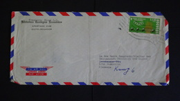 Ecuador - 1965 - Mi:EC 1184, Yt:EC PA440 On Envelope - Ecuador