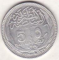 Egypte. 5 Piastres AH 1335 – 1916. Sultan Hussein Kamil. Argent .KM# 318.1 - Egypte