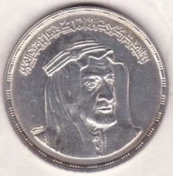 Egypte. 1 Pound 1976 - AH 1396. KING FAISAL. Argent.  KM# 457 - Egypte