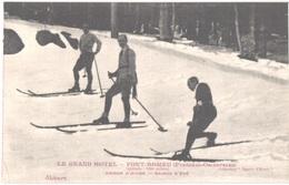 FR66 FONT ROMEU - Collection Sports D'hiver - Le Grand Hôtel - Skieurs - Animée - Superbe - Autres Communes