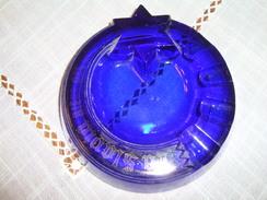 CENDRIER   EN VERRE  PUBLICITEE . LA SLAVIA     BIERE  DES GOURMETS - Glass