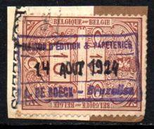 06464 Bélgica Selos Fiscais Taxes Fiscales 10c - Revenue Stamps