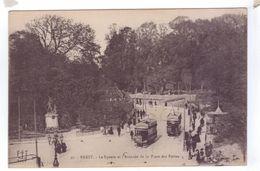 29 BREST Le Square Et L'avancee De La Place Des Portes Tram - Beuzec-Cap-Sizun