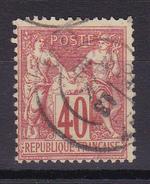 D520/ SAGE N° 70 OBL COTE 35€ - 1876-1878 Sage (Type I)