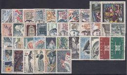 FRANCIA 1963 Nº 1368/1403 AÑO COMPLETO USADO (ref. 01) - France