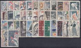 FRANCIA 1963 Nº 1368/1403 AÑO COMPLETO USADO (ref. 02) - France