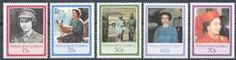 Papouasie Papua New Guinea 1986 Yvert 515-519 *** MNH Cote 7 Euro - Papouasie-Nouvelle-Guinée