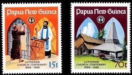 Papouasie Papua New Guinea 1986 Yvert 524-25 *** MNH Cote 4,75 Euro - Papua-Neuguinea