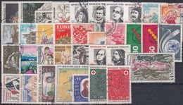 FRANCIA 1972 Nº 1702/1736 AÑO COMPLETO USADO - Francia