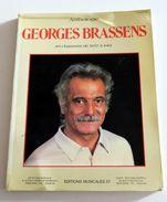 Partition Sheet Music Songbook GEORGES BRASSENS : Anthologie Volume 2 - 40 Chansons De 1957 à 1961 - Music & Instruments