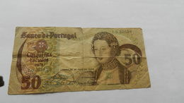 Billet  Cinquenta Escudos   Numéros Lg 33630 - Portogallo