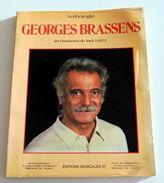 Partition Sheet Music Songbook GEORGES BRASSENS : Anthologie Volume 3 - 40 Chansons De 1961 à 1972 - Music & Instruments