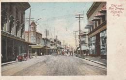 Honolulu  - King And Fort Streets - 2 Scan - Honolulu