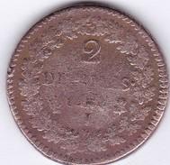 DUPRE  2  DECIMES  AN  4 ( ? )  I  .   (  2  SCANS  R°V°)  ) . - 1789-1795 Monnaies Constitutionnelles