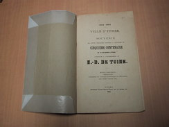 Ieper - Ypres / Souvenir ...du Cinquième Centanaire De La Délivrance D'Ypres Attribuée à Notre Dame De Tuine - Livres, BD, Revues